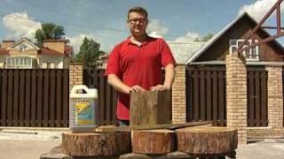 Антисептик для дерева: защити дом от гнили, плесени и огня.(Антисептик для древесины поможет защитить деревянный сруб от гниения, белого домового гриба, огня и воздей..., 2010-01-28T09:46:17.000Z)
