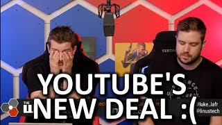 YouTube's Terrifying New Terms of Service - WAN Show Nov 22, 2019
