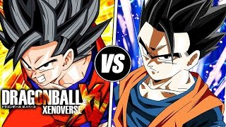Dragon Ball Xenoverse: Mystic Goku VS Mystic/Ultimate Gohan (Live Commentary)