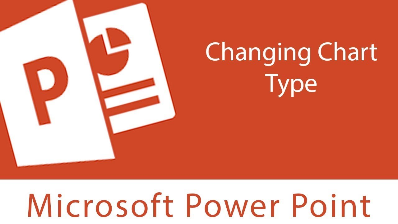 PowerPoint : Changing Chart Type | Rearranging the chart data ...