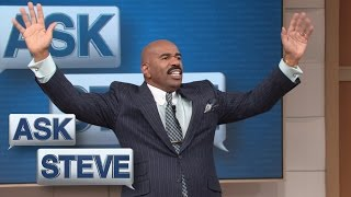 Ask Steve: Women – embrace your crazy! || STEVE HARVEY