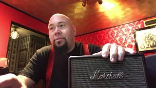 Marshall KILBURN Rechargable Bluetooth Speaker and comparison to the ACTON, STANMORE and WOBURN.