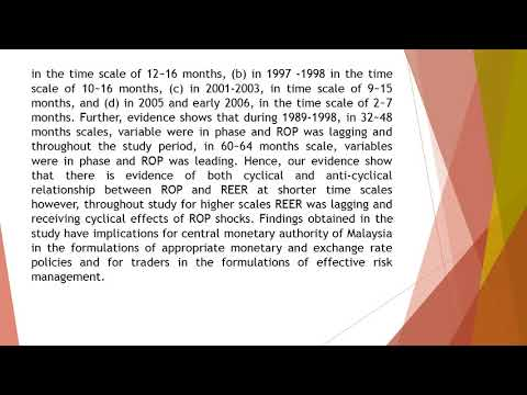 Oil Price and Exchange Rate in Malaysia A Time Frequency Analysis  AEFR 54 661 670