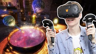 HARRY POTTER VR GAME!  | Waltz of the Wizard (HTC Vive Gameplay)