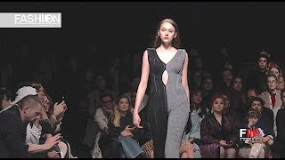 ARCHIE DICKENS Sangue Novo ModaLisboa Insight Fall 2019 Lisbon - Fashion Channel