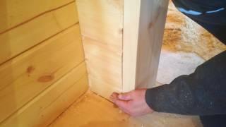 видео Окосячка своими руками в брусовом доме: виды, монтаж