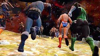 Raidenand39s Army Vs Supermanand39s Army Final Battle Fight Scene - Mortal Kombat Vs Dc Universe
