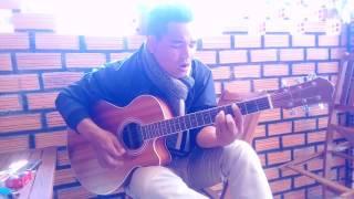 Về nghe gió kể guitar cover