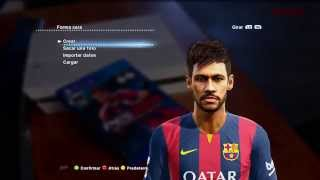 NEW FACE & HAIR NEYMAR JR 2014 2015  PES 2013  DESCARGA Thumbnail