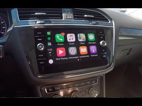 2019 Volkswagen Tiguan Apple CarPlay Tutorial!! (App-Connect)