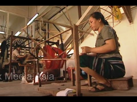 Download Laos Story on Traditional Textile Weaving Cultural Heritage