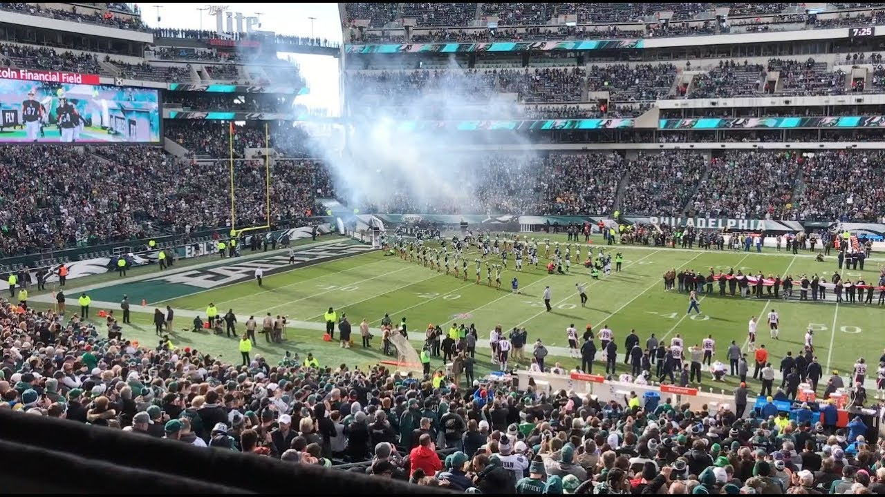 Philadelphia Eagles Club Suite At Lincoln Financial Field 2017