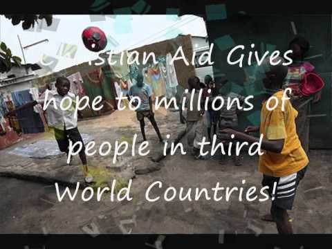 What does the Charity Christian Aid Do ?