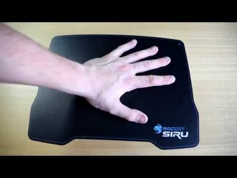 "roccat-siru-""knife-edge-thin""-gaming-mousepad-unboxing-&-first-look!-""knife-edge-thin"""