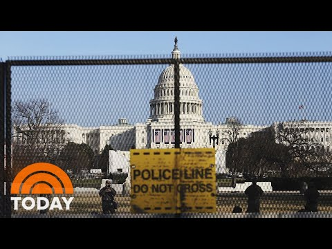 Armed Troops Fill Washington Amid New Threats Of Violence | TODAY