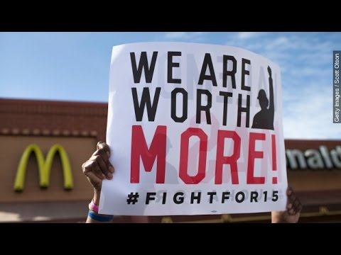 McDonald's Wage Protests Continue As Shareholders Meet