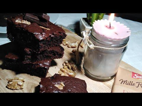 براونيز-في-10-دقائق-بمقادير-سهلة-و-مضبوطة-🍫🍮-brownies-facile