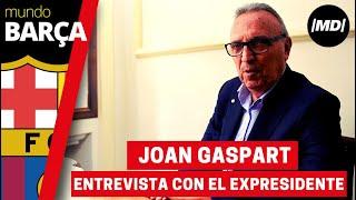 Entrevista a Joan Gaspart, expresidente del F.C. Barcelona