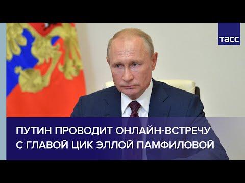 Путин проводит онлайн-встречу