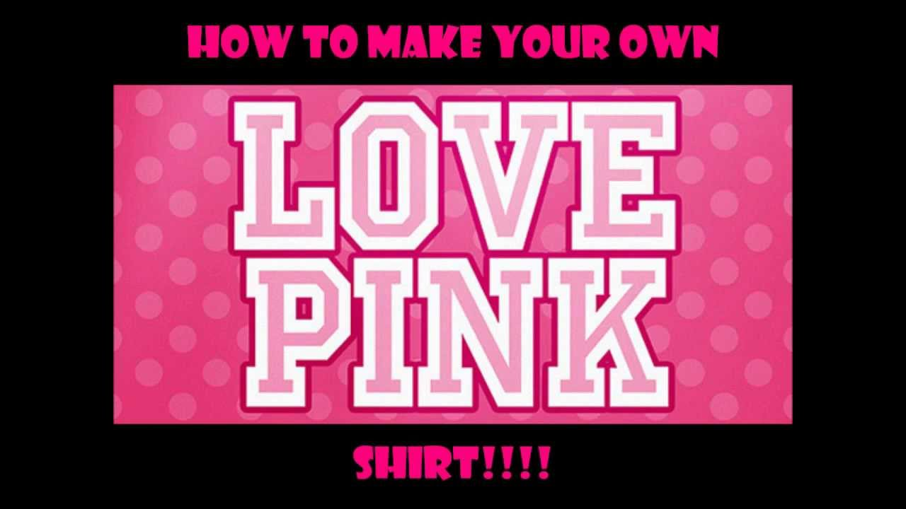 23* D.I.Y. Victoria's Secret Inspired Shirt (QUICK & EASY ...