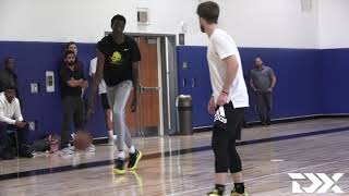 Bol Bol Shows Out in Front of GMs at NBA Pro Day