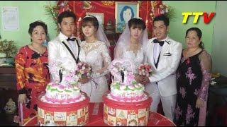 chuyện lạ hai anh em sinh đôi làm đám cưới với hai chị em sinh đôi ở Cà Mau