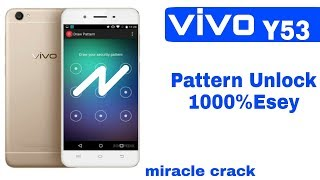 Vivo Y53 Pattern Unlock