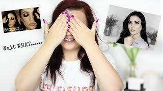 I Tried Following.... The Makeup Chair Makeup Tutorial | MakeupBySaz