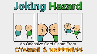 Joking Hazard - Cyanide & Happiness Announcements