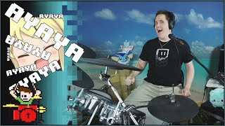 Ayaya Intensifies! On Drums!