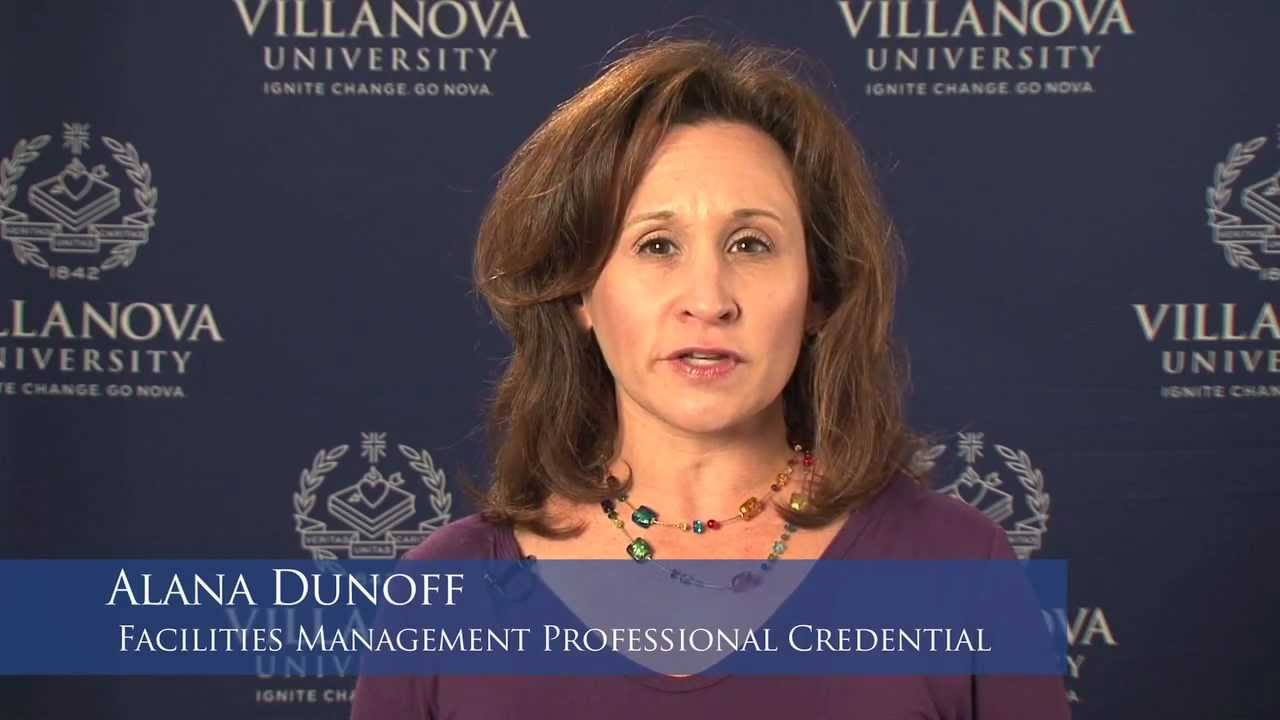 Facilities Management Professional Credential Alana Dunoff Youtube
