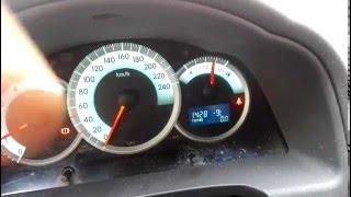 Настройка часов Toyota Corolla Verso! Как настроить часы?