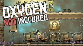 Oxygen Not Included - Painting Masterpiece! - Episode 4 - ONI Alpha Gameplay