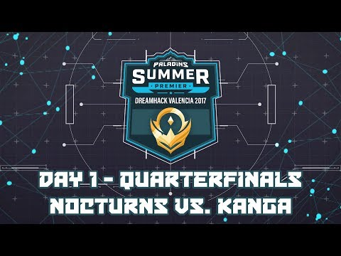 Paladins Summer Premier Quarterfinals: Nocturns Gaming vs. Kanga Esports