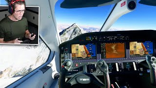 FLYING TO THE TOP OF MOUNT EVEREST - Microsoft Flight Simulator - Part 4