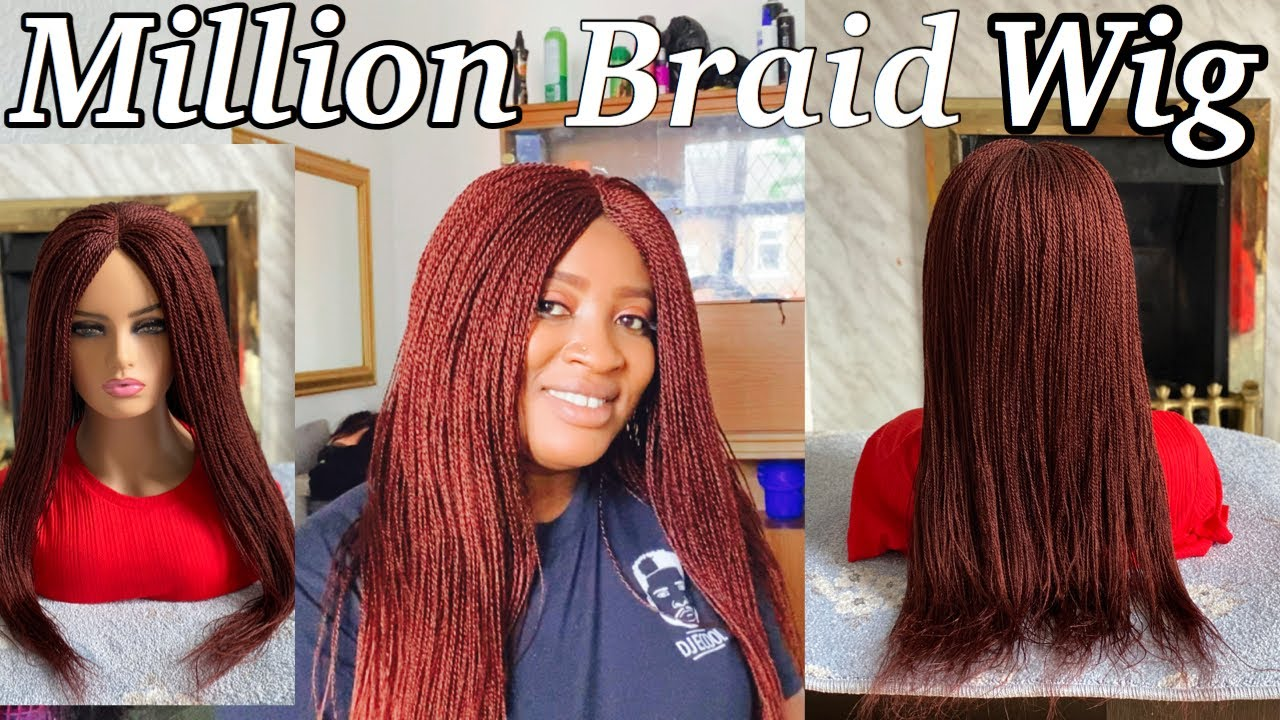 Download DIY - million braids wig tutorial (beginner friendly )how to make millions braid wig without closure
