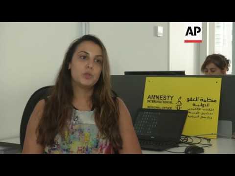 Amnesty criticises Syria over Aleppo attacks