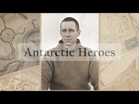 Who was the first person to go to antarctica (Music video)