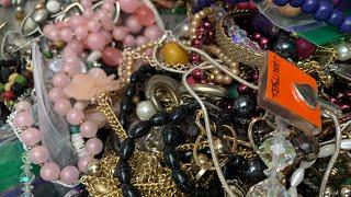 Huge Jewelry Jar Unjarring & Friend Mail