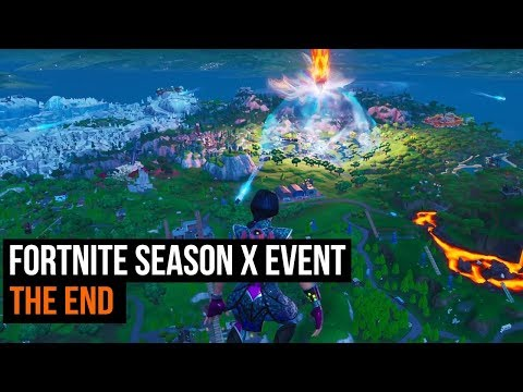 Fortnite Season X event - The End from YouTube · Duration:  5 minutes 26 seconds