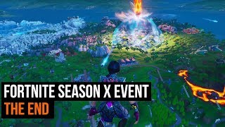 Fortnite Season X event - The End
