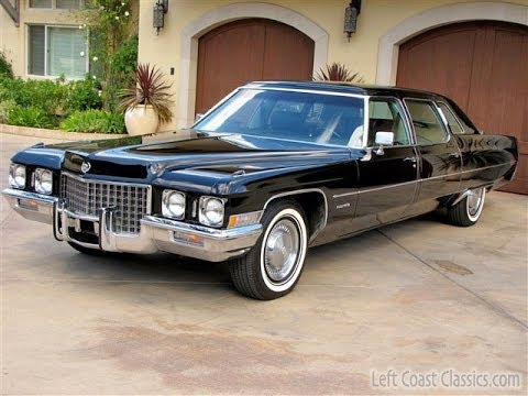 1971 Cadillac Fleetwood Limousine For Sale Youtube