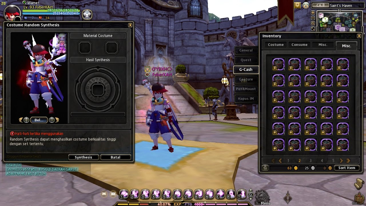 Dragon Nest Ina Costume Fusion Device Epic Racing Costume Youtube