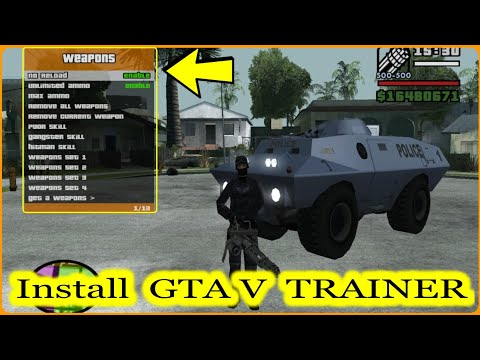 How To Install RZL-TRAINER In GTA San Andreas - GTA V Trainer