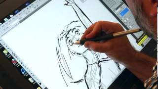 THE CROODS - Drawing Tutorial - Eep