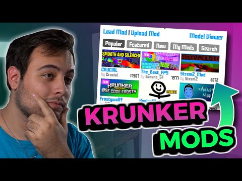 How To Use MODS In KRUNKER.IO