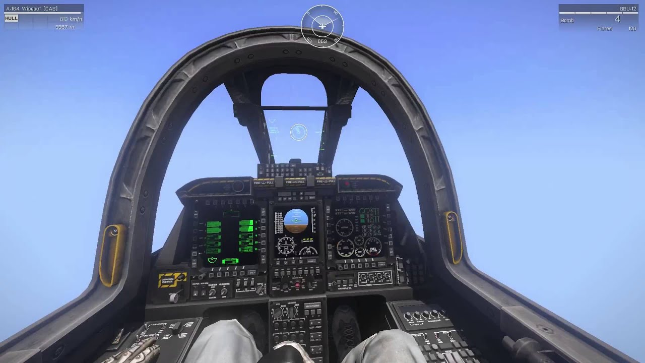 Laser Designation and Laser Guided Bombs from Jets - ARMA 3