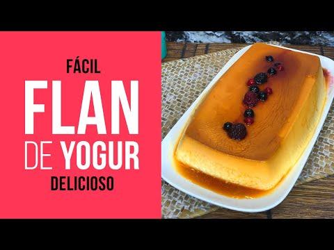 Flan de Yogur Fácil