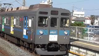 東急8500系(Bunkamura号)in幸手