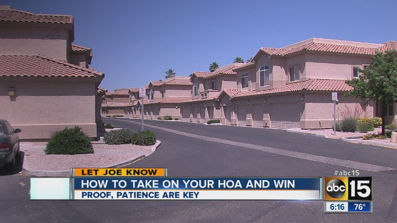 How to take on you HOA and win